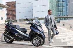 Tout savoir sur la gamme de scooters 3 roues MP3 Piaggio